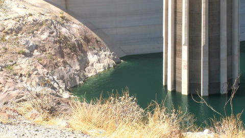 Detail shot of Hoover Dam Footage