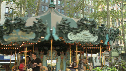 Carousel (1 of 2) Footage