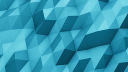 Smooth Polygons Waves stock footage