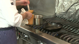 Master Chef at work (7 of 7) Stock Video Footage