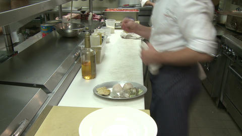 Master Chef at work (6 of 7) Stock Video Footage