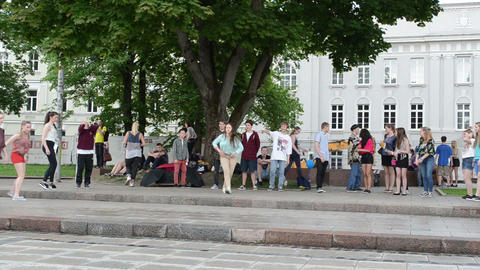 Modern street dancers Footage
