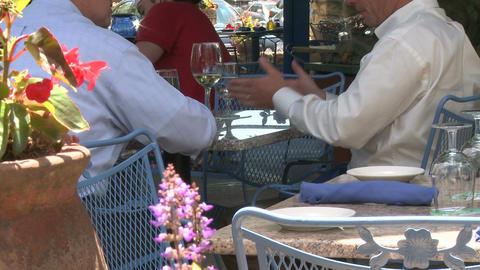 Sidewalk restaurant (5 of 9) Footage