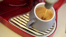 Making esspresso at home Stock Video Footage