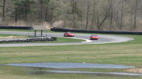 Expensive Sports Cars racing (9 of 9) Stock Video Footage
