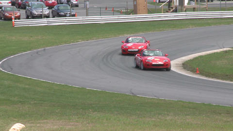 Expensive Sports Cars racing (7 of 9) Stock Video Footage