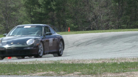 Tuned up cars racing (3 of 9) Stock Video Footage