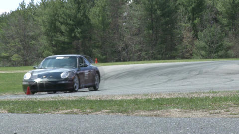 Tuned up cars racing (9 of 9) Stock Video Footage
