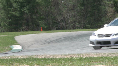 Tuned up cars racing (8 of 9) Stock Video Footage