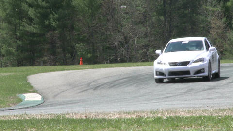 Tuned up cars racing (7 of 9) Stock Video Footage