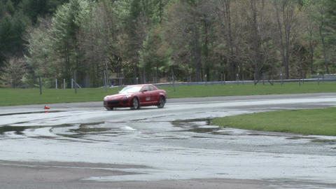 Racing on a rainy day (3 of 8) Footage