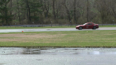 Competing race cars (8 of 8) Stock Video Footage