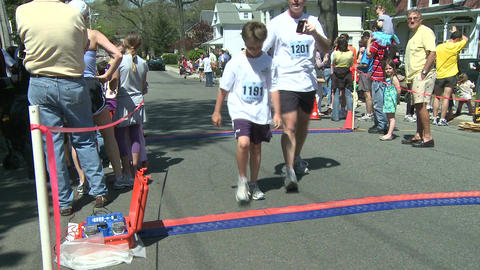 Marathon runners (5 of 10) Stock Video Footage