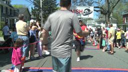 Marathon runners (3 of 10) Stock Video Footage