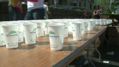 Marathon hydration (1 of 4) Footage