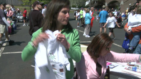 Marathon festivities (2 of 13) Stock Video Footage