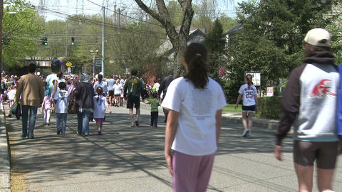 Marathon festivities (6 of 13) Stock Video Footage