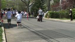 Large marathon crowd (10 of 12) Footage