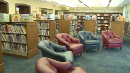 Local library (3 of 4) Stock Video Footage