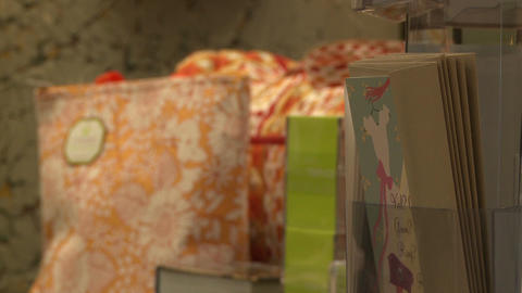 Views of shopping (3 of 7) Stock Video Footage