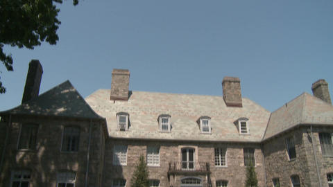 Large Mansion (1 of 3) Stock Video Footage