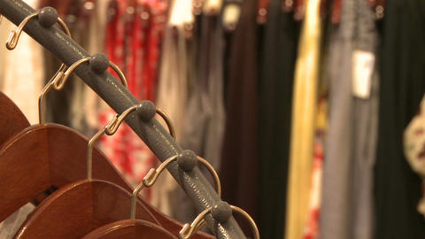 Views of shopping (5 of 7) Stock Video Footage