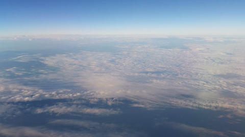 Flying over the clouds Stock Video Footage