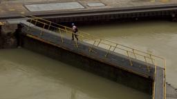 Cargo And Logistics Panama Canal Miraflores Locks 7 Footage
