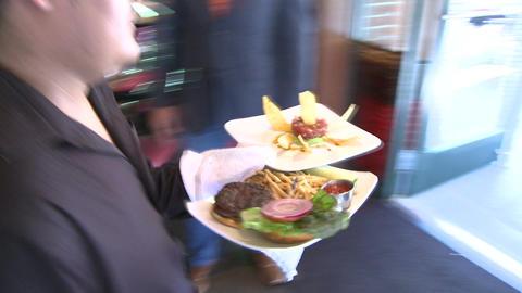Fine gourmet dining Footage