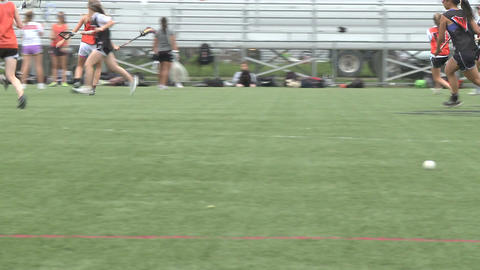 Girls Lacrosse team practicing (3 of 3) Live Action