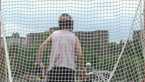 Boys Lacrosse team at practice (2 of 4) Live Action