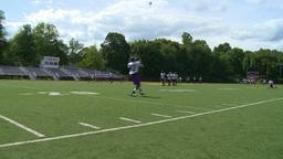 High school football team at practice (11 of 11) Footage