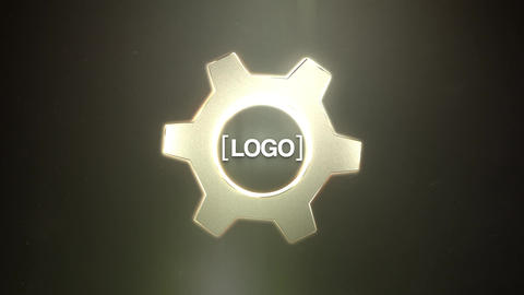 Gear Logo Animation After Effects Template