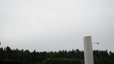 biogas plant water treatment facility sludge renewable energy Footage