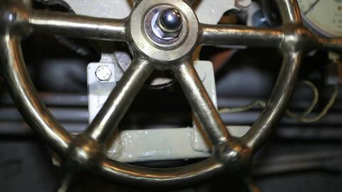 steering wheel Stock Video Footage
