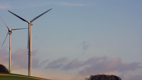 Windmills 6 HD1080p Stock Video Footage