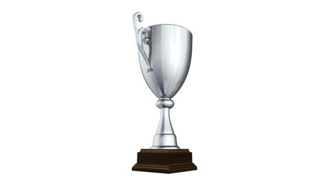 Trophy Cup Bw HD Animation