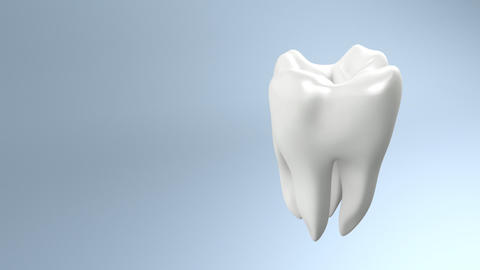 health tooth side Stock Video Footage