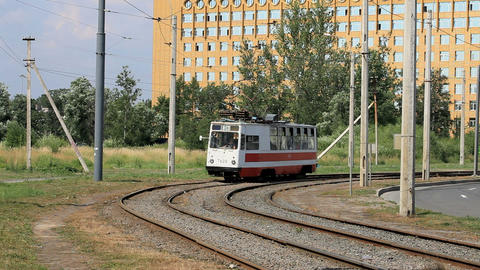 tram Stock Video Footage