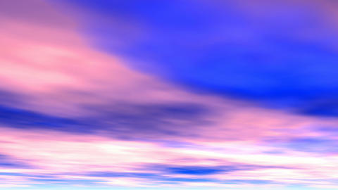 Pink clouds Animation