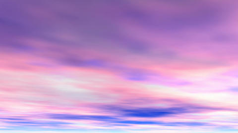 Pink clouds Stock Video Footage