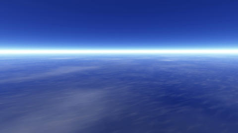 Earth atmosphere Stock Video Footage