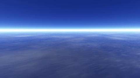 Earth atmosphere CG動画素材
