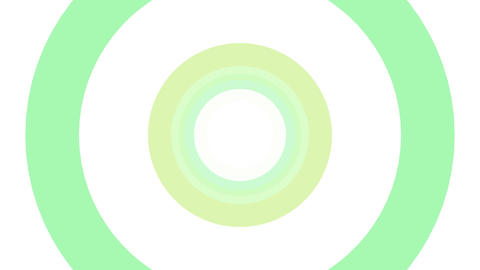 2D Pattern Donut C HD Animation