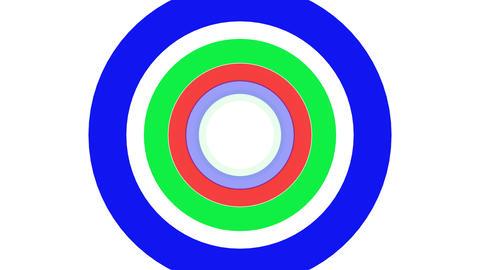 2D Pattern Donut E HD Stock Video Footage
