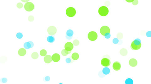 2D Pattern Pan Dot C HD Animation