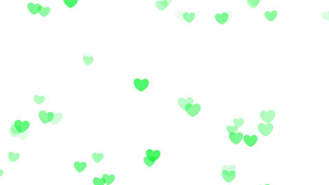 2D Pattern Pan Heart A HD Stock Video Footage