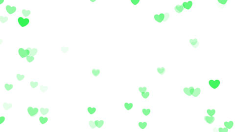2D Pattern Pan Heart A HD Animation