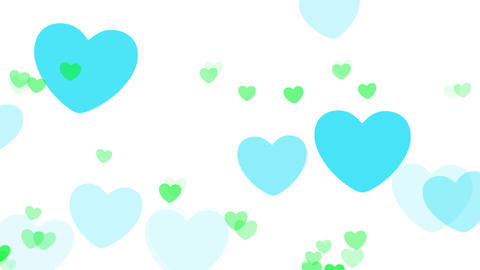 2D Pattern Pan Heart C HD Animation