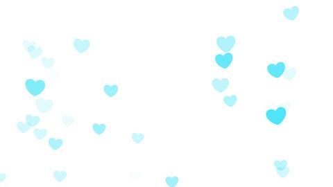 2D Pattern Wave Heart A HD Stock Video Footage